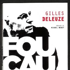 Libros: FOUCAULT - GILLES DELEUZE. Lote 276807448
