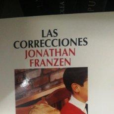 Libros: LAS CORRECCIONES - FRANZEN,JONATHAN. Lote 276006018