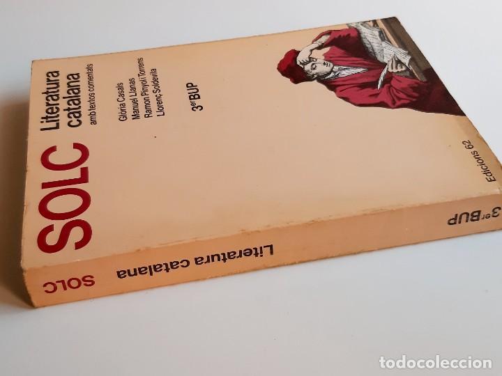 Libros: LIBRO SOLC - LITERATURA CATALANA - 17 X 24.CM - Foto 2 - 276912273