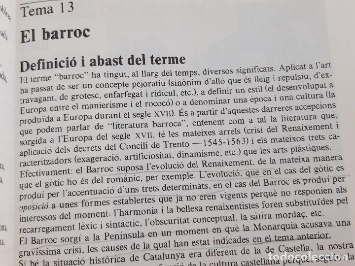 Libros: LIBRO SOLC - LITERATURA CATALANA - 17 X 24.CM - Foto 7 - 276912273