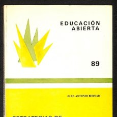 Libros: ESTRATEGIAS DE ENSEÑANZA - APRENDIZAJE EN LA UNIVERSIDAD - JUAN ANTONIO BERNAD. Lote 276913903