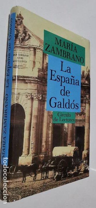 Libros: Delirio y destino + La España de Galdos MARIA ZAMBRANO circulo de lectores Muy buen estado - Foto 2 - 276961928