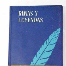 Libros: RIMAS Y LEYENDAS.- BÉCQUER, GUSTAVO ADOLFO. Lote 276982803