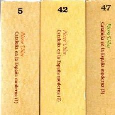 Libros: CATALUÑA EN LA ESPAÑA MODERNA 1, 2 Y 3 - VILAR, PIERRE. Lote 276993203