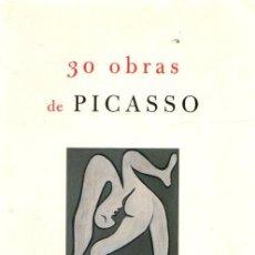 Libros: 30 OBRAS DE PICASSO - RICHARDSON, JOHN. Lote 276993213