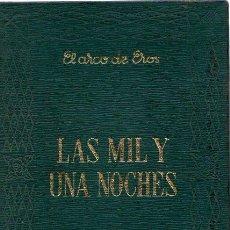 Libros: LAS MIL Y UNA NOCHES 1 Y 2 - NO CONSTA AUTOR. Lote 276993228