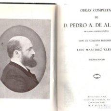 Libros: OBRAS COMPLETAS - ALARCÓN, D. PEDRO A. DE. Lote 276993238