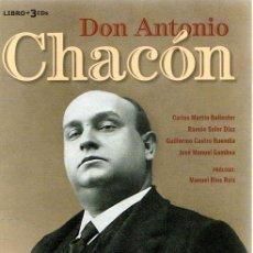 Libros: DON ANTONIO CHACÓN - VVAA. Lote 276993278