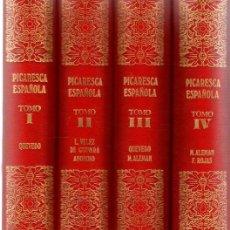 Libros: LA PICARESCA ESPAÑOLA. 4 TOMOS, COMPLETA - NO CONSTA AUTOR. Lote 276993298