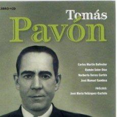 Libros: TOMÁS PAVÓN - VVAA. Lote 276993338