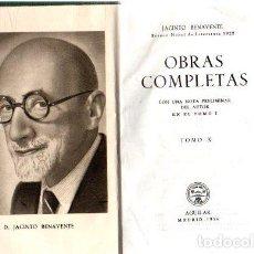 Libros: OBRAS COMPLETAS. TOMO X - BENAVENTE, JACINTO. Lote 276993413