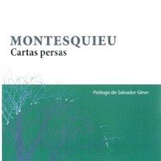 Libros: CARTAS PERSAS - MONTESQUIEU. Lote 277042658