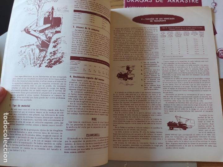 Libros: Obras Publica, Lote de 3 boletines sobre el uso, mantenimiento, etc. de las maquinas. Años 60 - Foto 4 - 277049953