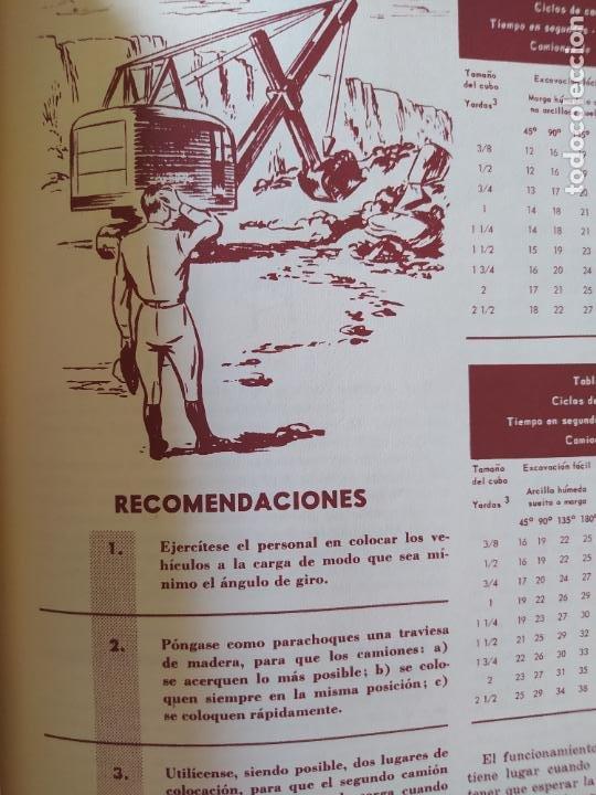 Libros: Obras Publica, Lote de 3 boletines sobre el uso, mantenimiento, etc. de las maquinas. Años 60 - Foto 7 - 277049953