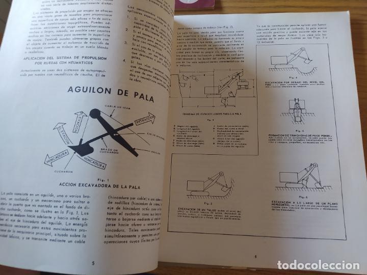 Libros: Obras Publica, Lote de 3 boletines sobre el uso, mantenimiento, etc. de las maquinas. Años 60 - Foto 8 - 277049953