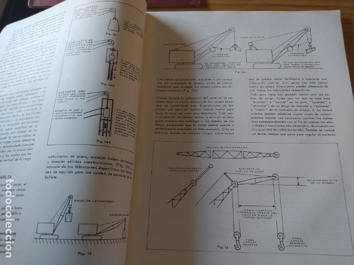 Libros: Obras Publica, Lote de 3 boletines sobre el uso, mantenimiento, etc. de las maquinas. Años 60 - Foto 9 - 277049953
