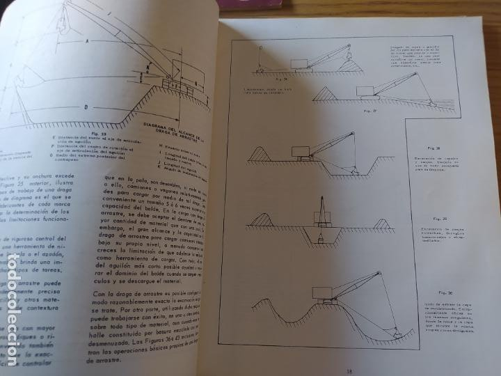 Libros: Obras Publica, Lote de 3 boletines sobre el uso, mantenimiento, etc. de las maquinas. Años 60 - Foto 10 - 277049953