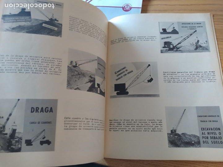 Libros: Obras Publica, Lote de 3 boletines sobre el uso, mantenimiento, etc. de las maquinas. Años 60 - Foto 14 - 277049953