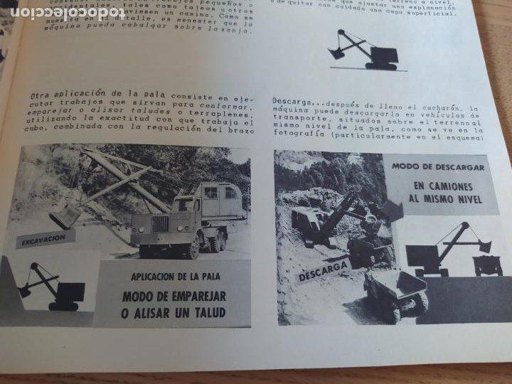 Libros: Obras Publica, Lote de 3 boletines sobre el uso, mantenimiento, etc. de las maquinas. Años 60 - Foto 15 - 277049953