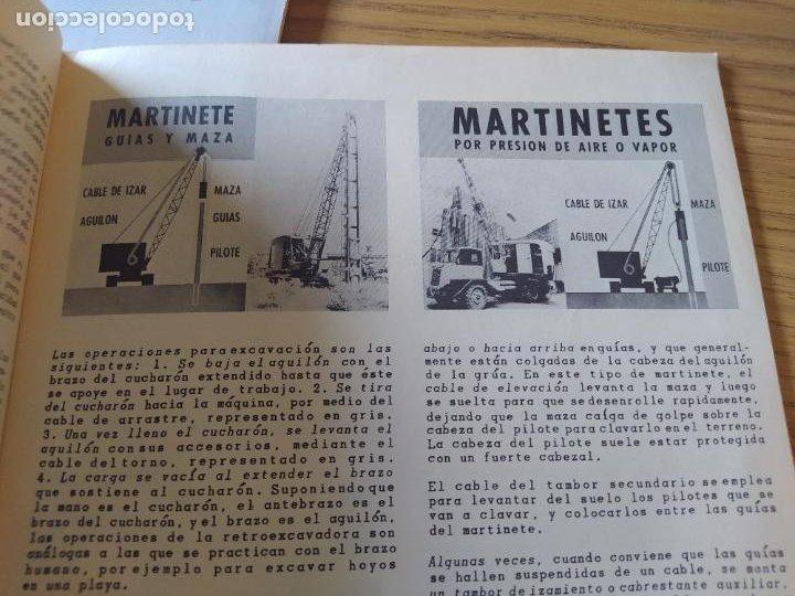 Libros: Obras Publica, Lote de 3 boletines sobre el uso, mantenimiento, etc. de las maquinas. Años 60 - Foto 16 - 277049953