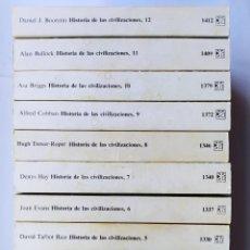 Libros: HISTORIA DE LAS CIVILIZACIONES. 12 VOLÚMENES. - STUART PIGGOTT. TDK183. Lote 277026183