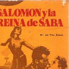 Libros: SALOMÓN Y LA REINA DE SABA - BUENO FARO, Mª PILAR. Lote 277415198