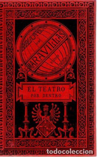 EL TEATRO POR DENTRO. MAQUINARIA Y DECORACIONES - MOYNET, M. J. (Libros sin clasificar)