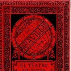 Libros: EL TEATRO POR DENTRO. MAQUINARIA Y DECORACIONES - MOYNET, M. J.. Lote 277415213