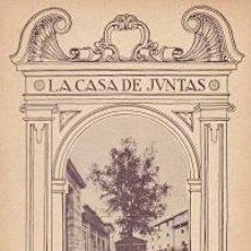 Libros: LA CASA DE JUNTAS DE GUERNICA - ECHEGARAY, CARMELO DE. Lote 277415218