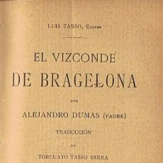 Libros: EL VIZCONDE DE BRAGELONA. 6 TOMOS - DUMAS. ALEJANDRO, (PADRE). Lote 277485798