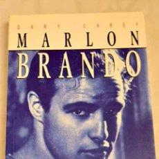 Libros: MARLON BRANDO, EL SALVAJE.- CAREY, GARY. Lote 277676098