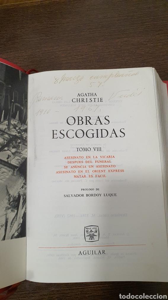 Libros: Agatha Cristhie ...Obras Escogidas - Foto 5 - 277690093