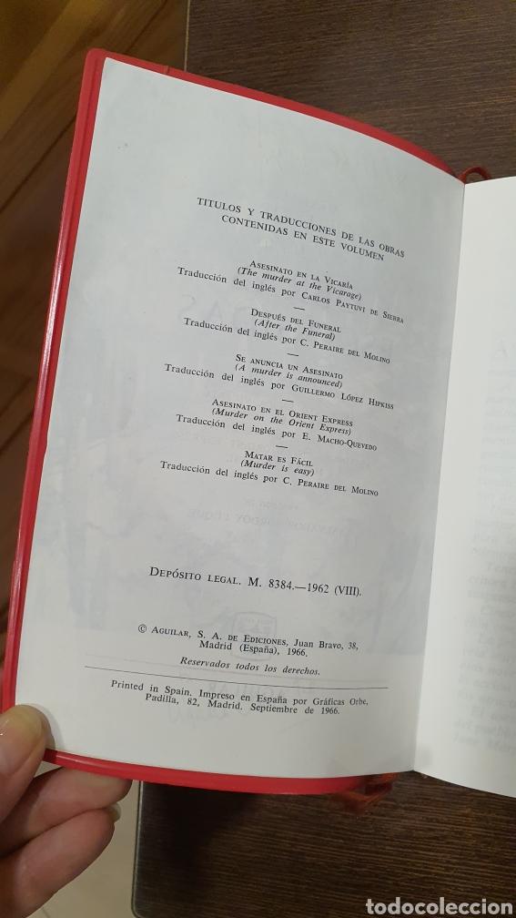 Libros: Agatha Cristhie ...Obras Escogidas - Foto 6 - 277690093