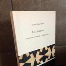 Libros: LA ANGUSTIA (ESCUELA LACANIANA) (SPANISH EDITION). JACQUES- ALAIN MILLER.. Lote 277746893