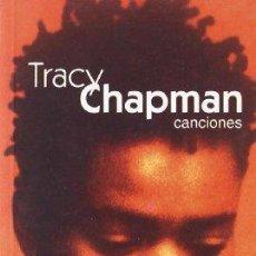 Libros: TRACY CHAPMAN, CANCIONES - TRACY CHAPMAN. Lote 277962368