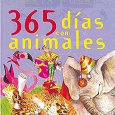 Libros: 365 DÍAS CON LOS ANIMALES DE GLORIA FUERTES (GRANDES LIBROS, TAPA DURA) - GLORIA FUERTES. Lote 278120823