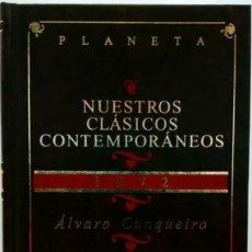 Libros: VIDA Y FUGAS DE FANTO FANTINI DELLA GHERARDESCA - CUNQUEIRO, ÁLVARO. Lote 278147863