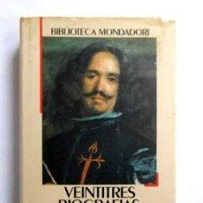 Libros: VEINTITRÉS BIOGRAFÍAS DE PINTORES: MUSEO DEL PRADO - VVAA. Lote 278149938