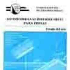 Livres: GEOMEMBRANAS IMPERMEABLES PARA PRESAS. ESTADO DEL ARTE - VVAA. Lote 278152913