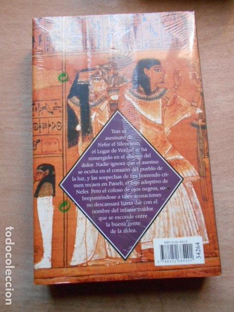 Libros: LUGAR DE VERDAD CHRISTIAN JACQ LA PIEDRA DE LUZ 4 PRECINTADO - Foto 2 - 278166868