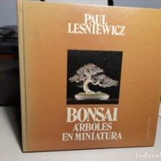 Libros: FANTASTICO LIBRO: BONSAI, ARBOLES EN MINIATURA. Lote 278198948