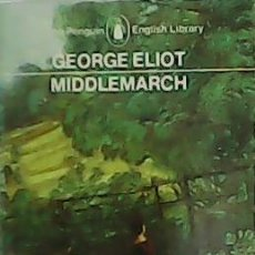 Libros: MIDDLEMARCH. - ELIOT, GEORGE.-. Lote 278201453