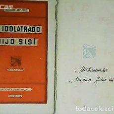Libros: MI IDOLATRADO HIJO SISÍ. - DELIBES, MIGUEL.-. Lote 278202903