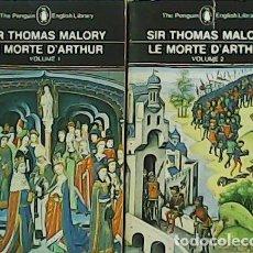 Libros: LE MORTE D´ARTHUR. VOLUMEN I-II- - MALORY, SIR THOMAS.-. Lote 278206053