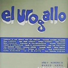 Libros: EL UROGALLO. REVISTA LITERARIA BIMESTRAL. AÑO V. Nº 26 COLABORAN: JOSÉ LUIS ABELLÁN, FERNANDO ÁLVA. Lote 278208938