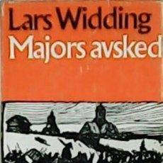 Libros: MAJORS AVSKED. - WIDDING, LARS.-. Lote 278208963
