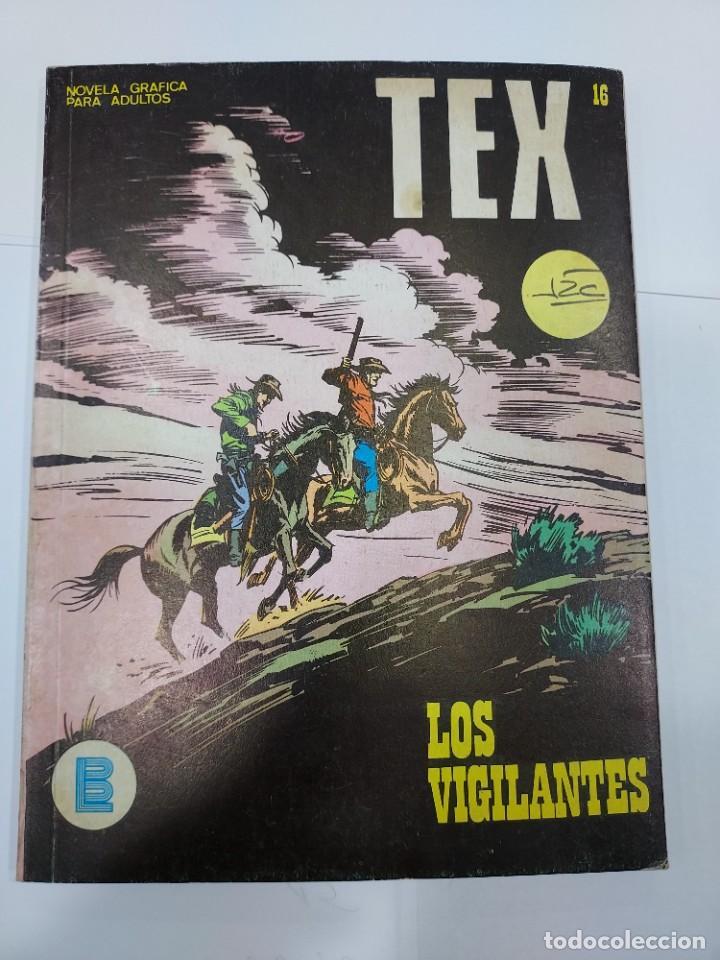 TEX N°16: LOS VIGILANTES (BURULAN, 1971). 96 PÁGINAS EN B/N (Libros sin clasificar)
