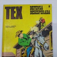 Libros: TEX. Nº 59. DEFENSA DESESPERADA. 1972.. Lote 278276113