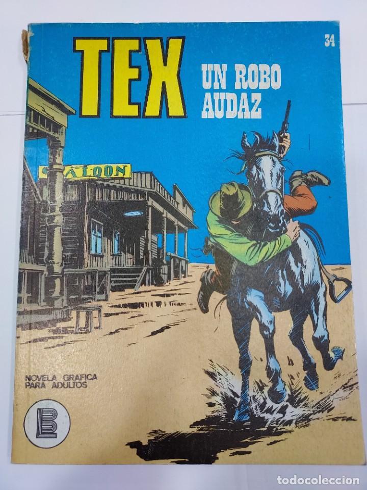 TEX UN ROBO AUDAZ Nº 34 (Libros sin clasificar)
