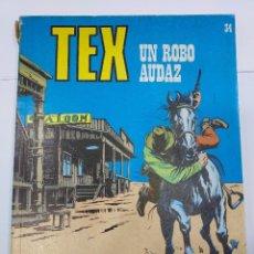 Libros: TEX UN ROBO AUDAZ Nº 34. Lote 278276343